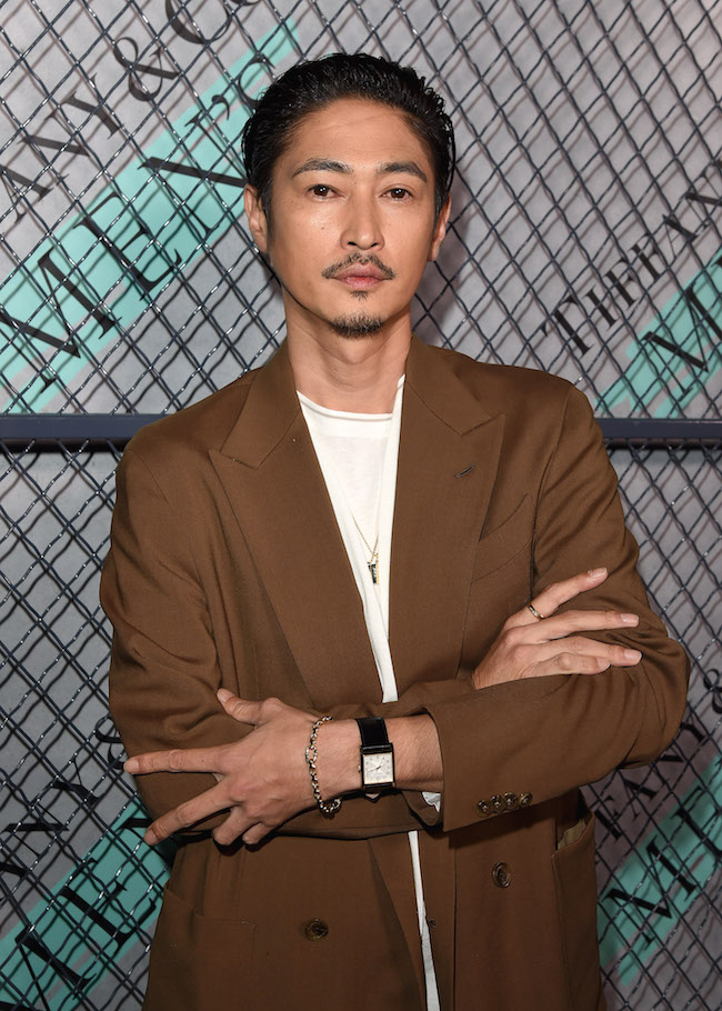 Yosuke Kubozuka at Tiffany & Co. Mens Launch, held at Hollywood Athletic Club, Los Angeles, CA @tiffanyandco #TiffanyMens