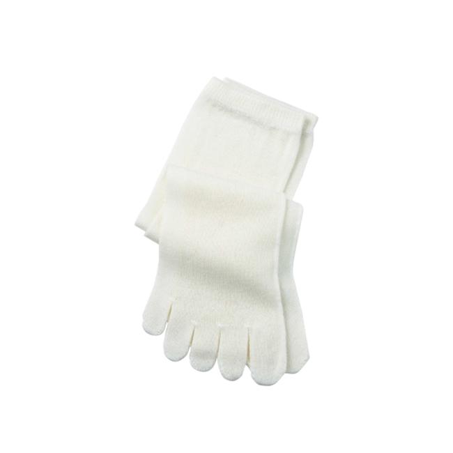 カバーソックス冷えとり靴下 正絹 シルク 5本指ソックス(重ねばき専用)¥1,100/Hiorie(丸中)