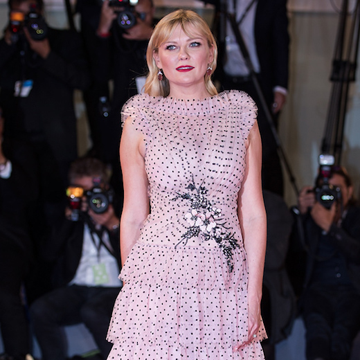 """(170905) -- VENICE, Sept. 5, 2017 () -- Actress Kirsten Dunst attends the premiere of the movie """"Woodshock"""" at the 74th Venice Film Festival in Venice, Italy, Sept. 4, 2017. (/Jin Yu)(yy)"""