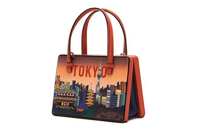 ポスタル バッグ 東京(H13.5×W17×D8.5)¥290,000 ※世界先行発売