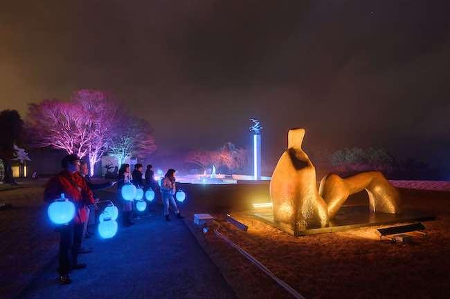 髙橋匡太『Glow with Night Garden Project in Hakone』Photo: Mito Murakami