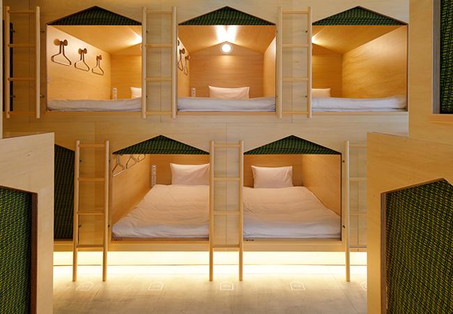 sleep-in Hut