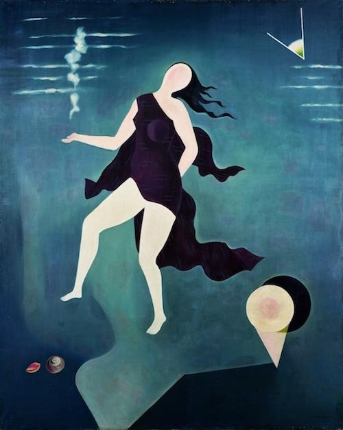 古賀春江 『白い貝殻』 1932年(昭和7)ポーラ美術館