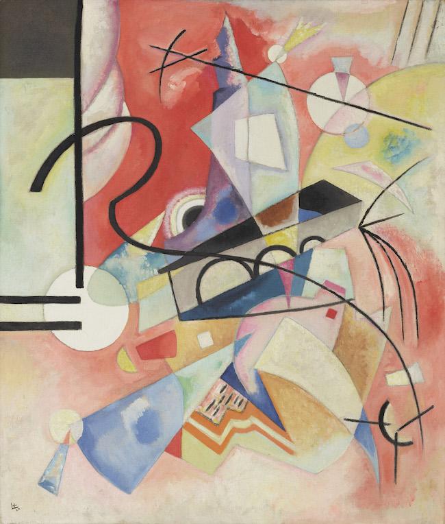 ヴァシリー・カンディンスキー『自らが輝く』(1924年)石橋財団アーティゾン美術館蔵