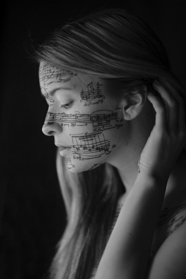 ©Jacopo Baboni Schilingi 『Maarjan Pärn - caucasian face (N.5)』(2018年)