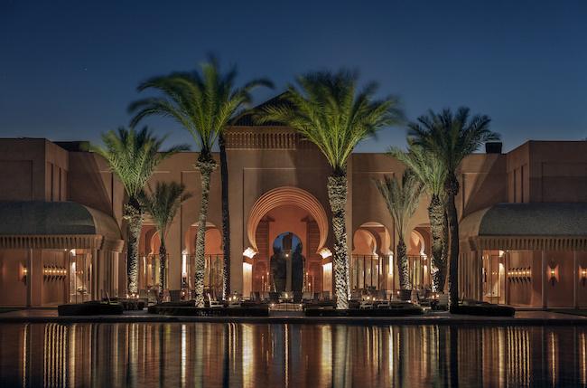 モロッコのマラケシュ郊外に佇むアマンジェナ