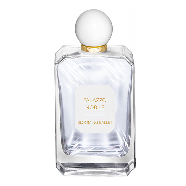 Palazzo Nobile(SEA BLISS、SECRET BAMBOO、SATIN MUSK、BRIGHT POPPY、BLOOMING BALLEET、CASANOVA2161)50ml ¥12,000 100ml ¥18,000