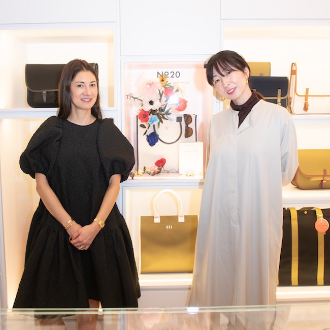 「L/UNIFORM」ジャンヌ・シニョールが「edenworks」篠崎恵美と対談
