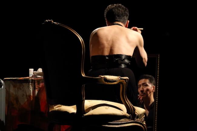 参考写真:映像作品『エゴオブスクラ』より (2020) ©Yasumasa Morimura
