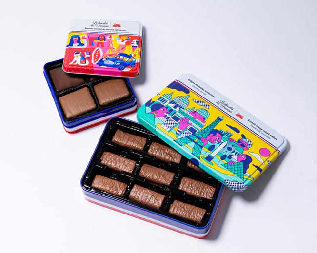 ダークチョコレート・ビスケット¥2,300 フレンチクリスピー・ウエハース¥2,600