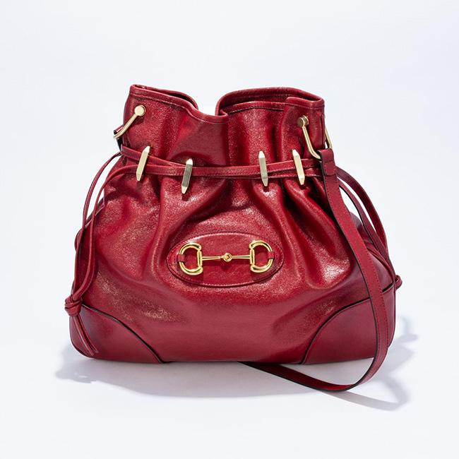 バッグ(W38×H35×D5cm)¥268,000/Gucci(グッチ ジャパン クライアントサービス 0120-99-2177)