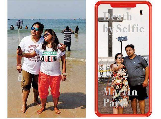 自撮りが世界で最も盛んな国と言われるインドでは、自撮りによる死亡者数も多く、その現象を『Death by Selfie」にまとめている。(19年、Super Labo)