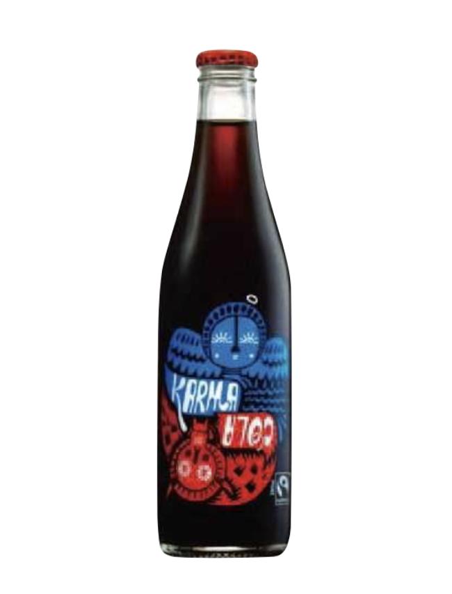 オーガニッククラフトソーダ カーマコーラ [300ml] ¥350/Karma Cola(ビープル バイ コスメキッチン)