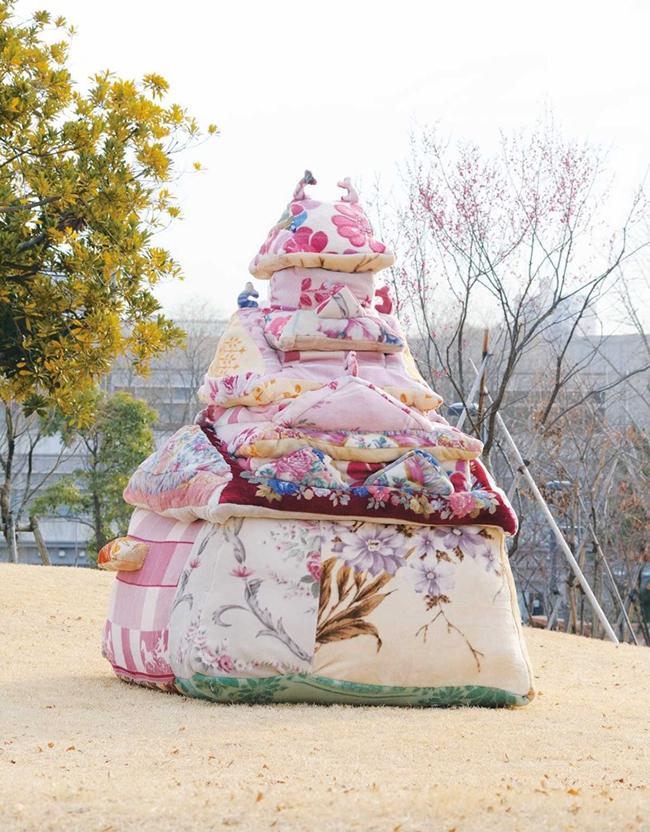 『大阪冬の陣』(2011年)多摩美術大学の卒業制作作品。