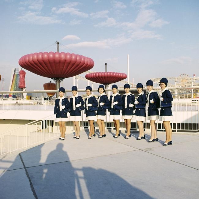 「日本万国博覧会(大阪万博)」(1970年)会場風景より