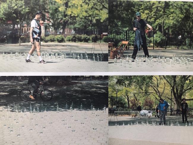Shuta Hasunuma, Someone's public and private / Something's public and private, 2019, Tompkins Square Park, New York Photo by Masahito Ono