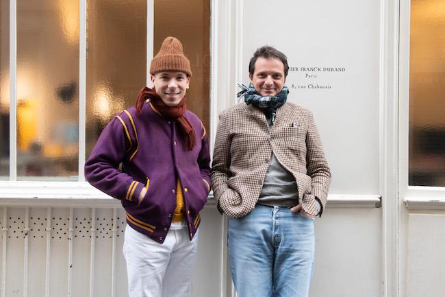 左からゴーチエ・ボルサレロ、フランク・デュラン