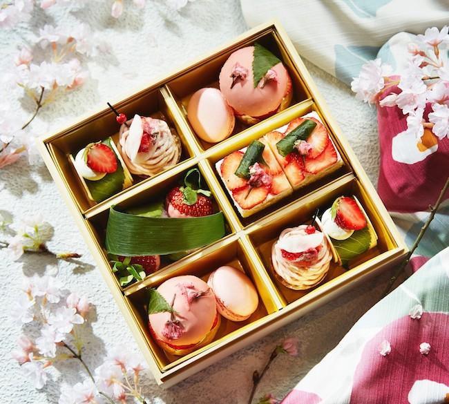 「お花見スイーツボックス」(約2〜3名用)¥3,800(税込)
