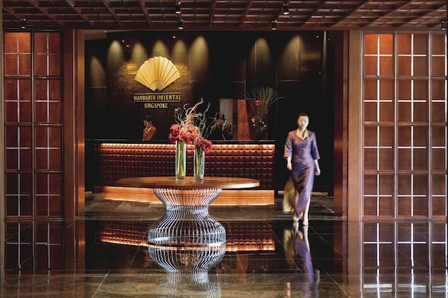 Mandarin Oriental, Singapore Lobby