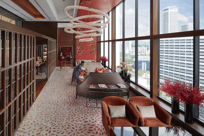 Oriental Club Lounge Interior