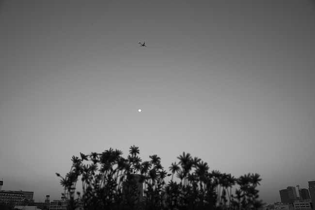 ハービー・山口 『新しい飛行ルートとスーパームーン 2020』