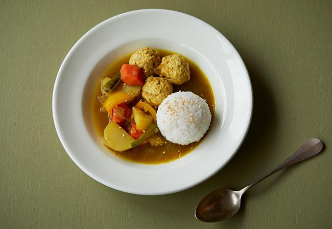 鶏と野菜の和風だしスープカレー