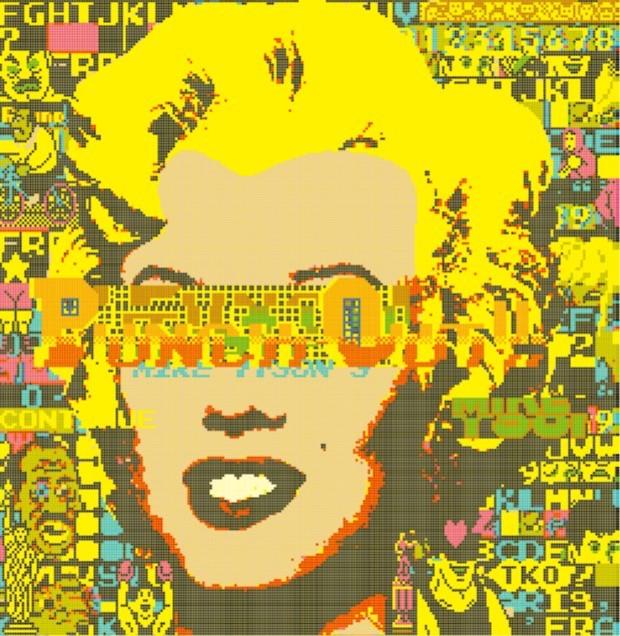 森洋史『Marilyn Monroe × Andy Warhol × Famicom #3』(2020)