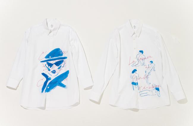 シャツ 各¥21,000