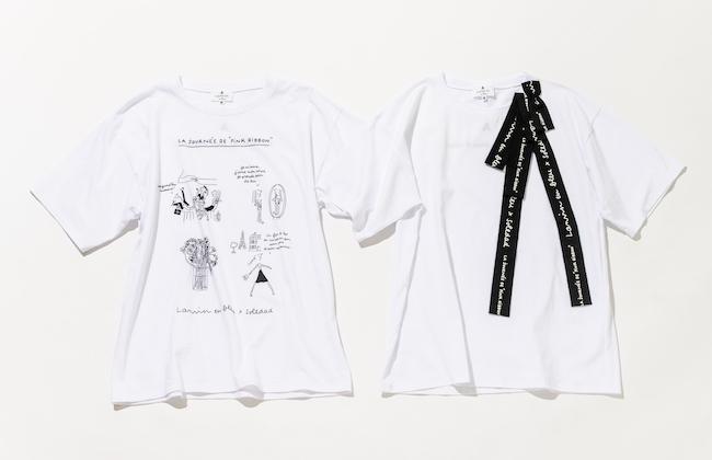 Tシャツ(左)¥14,000(右)¥13,000