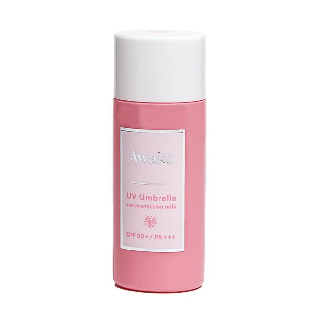 UV アンブレラ サンプロテクションミルク[50ml](SPF50+/PA +++)¥3,000/Awake(アウェイク 0120-586-682)