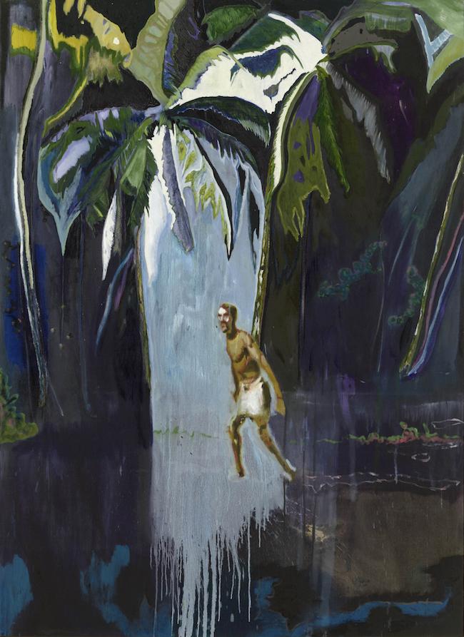 《ペリカン(スタッグ)》2003年 個人蔵マイケル ヴェルナー ギャラリー、ニューヨーク/ロンドン蔵 ©Peter Doig. Private Collection, courtesy Michael Werner Gallery, New York and London. All rights reserved, DACS & JASPAR 2020 C3120