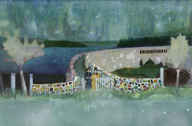 <br /> 《ガストホーフ・ツァ・ムルデンタールシュペレ》 2000-02年、シカゴ美術館 ©Peter Doig. The Art Institute of Chicago, Gift of Nancy Lauter McDougal and Alfred L. McDougal, 2003. 433. All rights reserved, DACS & JASPAR 2020 C3120