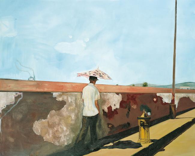《ラペイルーズの壁》 2004年、ニューヨーク近代美術館 ©Peter Doig. Museum of Modern Art, New York. Gift of Anna Marie and Robert F. Shapiro in honor of Kynaston McShine, 2004. All rights reserved, DACS & JASPAR 2020 C3120