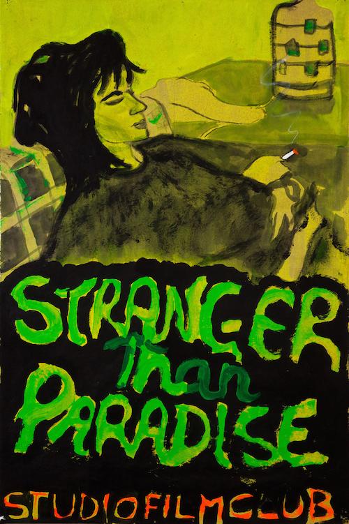 《ストレンジャー・ザン・パラダイス》(「スタジオフィルムクラブ」より) 2011年、マイケル ヴェルナー ギャラリー、ニューヨーク/ロンドン ©Peter Doig. Courtesy Michael Werner Gallery, New York and London. All rights reserved, DACS & JASPAR 2020 C3120
