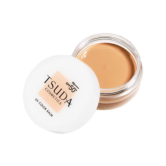 UVカラーバーム[18g](SPF50+/PA++++)¥5,600/Tsuda Cosmetics(ドクター津田コスメラボ 0120-555-233)