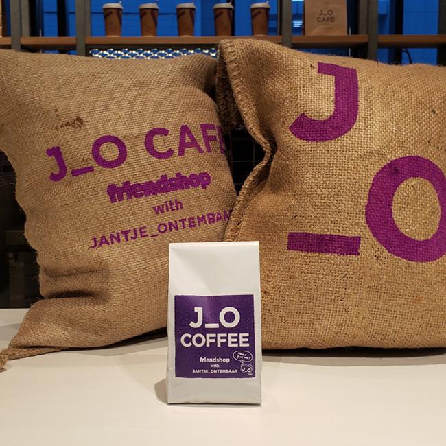 J_O CAFE オリジナルブレンドコーヒー(200g)¥1,600(税込)