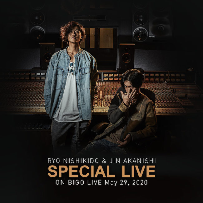 Jin Akanishi and Ryo Nishikido on Bigo Live - Image 2