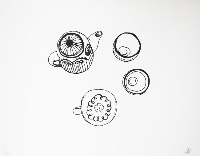 tea table ©️YU SORA  ¥28,000