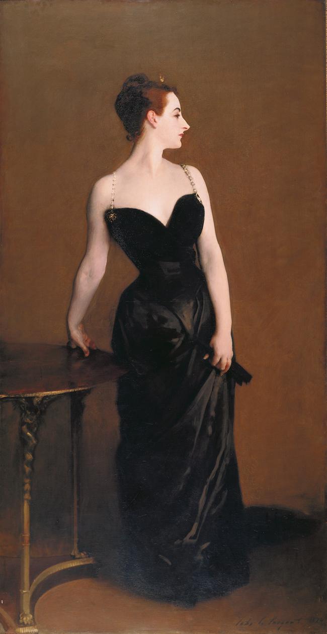 「マダムX(ピエール・ゴートロー夫人)」 1883〜84年 油彩、カンヴァス 208.6×109.9cm ニューヨーク、メトロポリタン美術館蔵 ©︎Artothek/Aflo