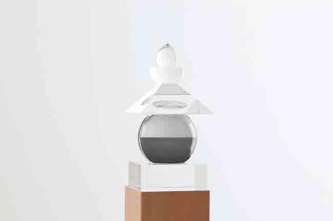 『光学硝子五輪塔 カリブ海、ジャマイカ』(2011/1980) 小田原文化財団蔵  © Hiroshi Sugimoto / Courtesy of Odawara Art Foundation