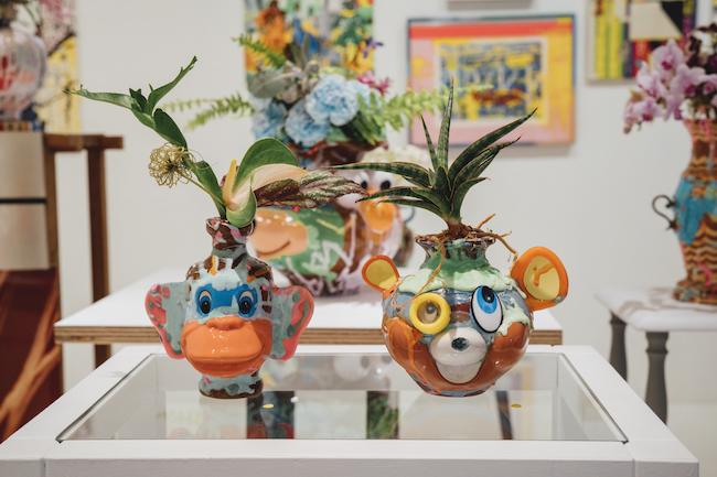 CALM & PUNK GALLERYの出展作家、宮澤謙一の作品