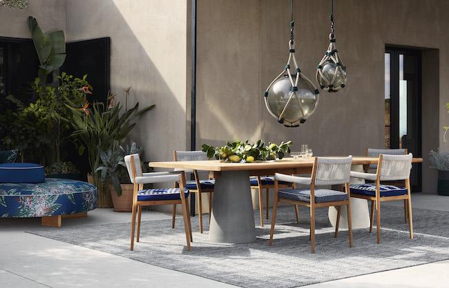 「SAIL OUT」展示・受注開始 : ソファ、ローテーブル 2020年7月9日〜/テーブル、チェア 2020年9月予定