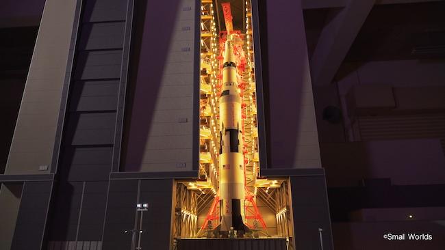 「宇宙センターエリア」より。 ©SMALL WORLDS
