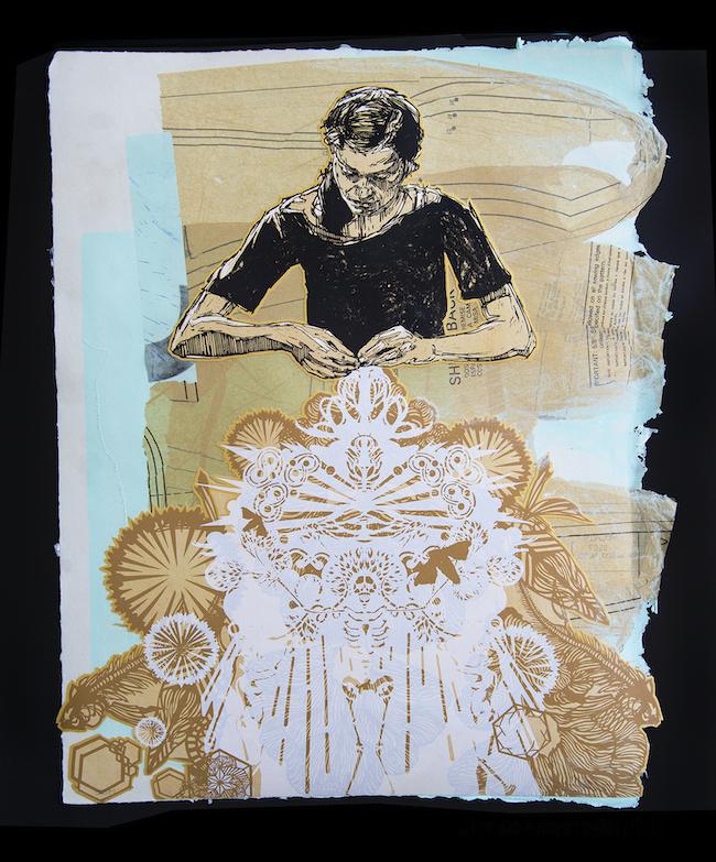 SNOW Contemporaryの出展作家、SWOONの作品