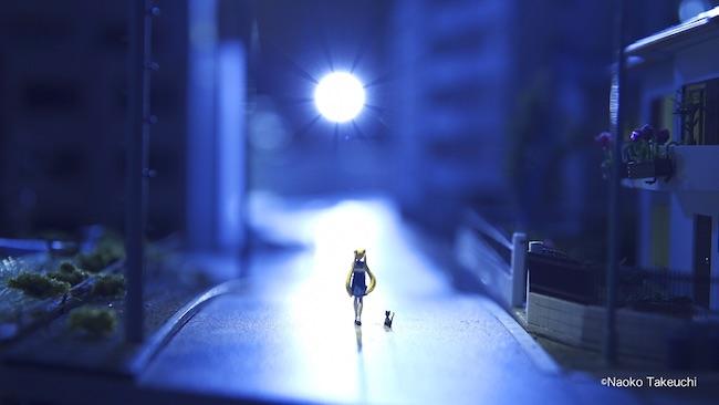 「美少女戦士セーラームーンエリア」より。 ©Naoko Takeuchi