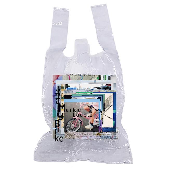 PVCバッグ ¥2,500 ※実際の仕上がりとは異なる可能性があります