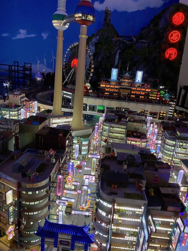 世界の街エリア アジア風の街