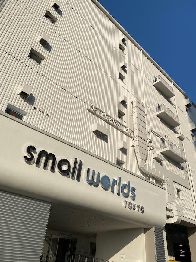 small worlds tokyoビル外観