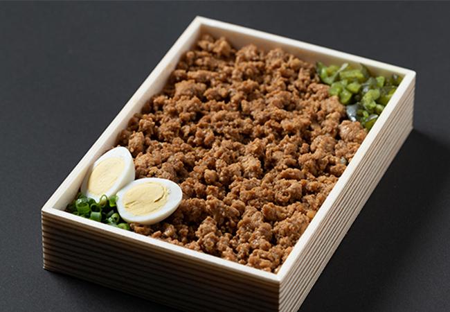 弁鶏(鶏てりそぼろ)¥1,000