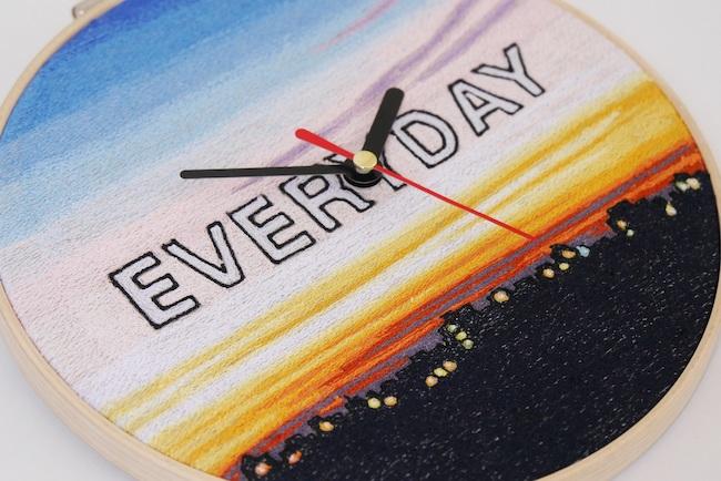青山 悟『Everyday Clock』(2020年)参考図版  撮影:青山 彩加 ©Aoyama Satoru, Courtesy of the artist and Mizuma Art Gallery
